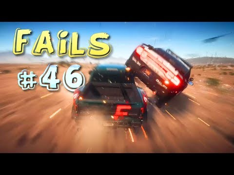 Racing Games FAILS Compilation #46