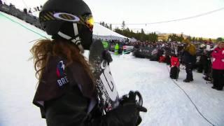 Shaun White WInning Run - Winter Dew Tour Nike Open Snowboard Superpipe Finals