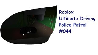 Roblox: Ultimate Driving | Police Patrol #044 | Neue Map + Easter Egg | [Huski/German]