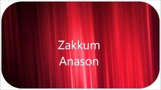 Zakkum - Anason Altyapısı