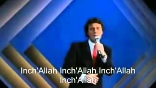 Salvatore Adamo - Inch'allah- En frances -en vivo