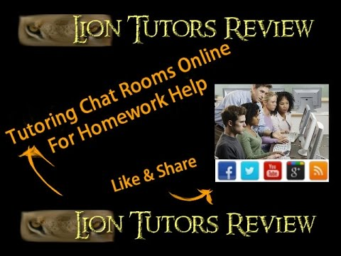 Tutoring Chat Rooms Online For Homework Help