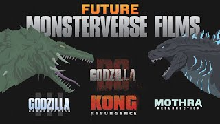 The Next Monsterverse Films!   Godzilla BC Movie and Kong 2 in the Hollow Earth!