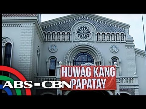 TV Patrol: Pastoral letter ng CBCP vs EJK, binasa sa lahat ng simbahan