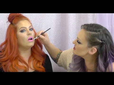 Glitter Lips tutorial with MUA Lexie Lazear
