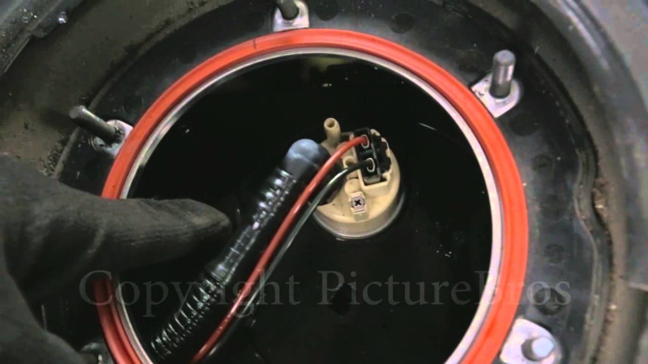 How To Replace a Fuel Pump for a MercedesBenz S550  YouTube