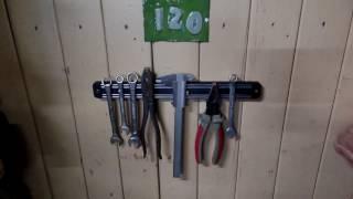Магнитная планка для ножей с Алиэкспресс очень удобная и для крепежа инструмента(Магнитные держатели для кухонных ножей http://ali.pub/j43uo не дорого практично и удобно.Товары со скидкой http://fas.st/Ctn..., 2016-07-08T07:59:44.000Z)