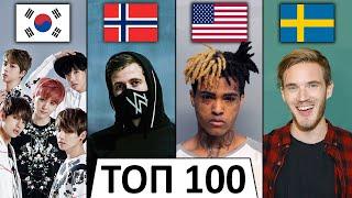 ТОП 100 МИРОВЫХ КЛИПОВ по ЛАЙКАМ 👍 | Лучшие зарубежные песни | За все время