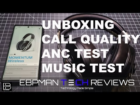 Are they Worth it? New 2019 Sennheiser Momentum 3 Review | Call Test | ANC Test