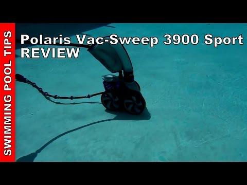 Polaris Vac-Sweep 3900 Sport Pressure Side Pool Cleaner Review