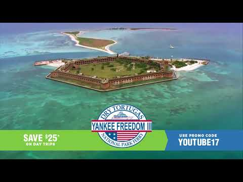 Visit Dry Tortugas National Park- Fall Promo 2017