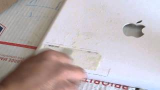 How to remove stubborn paper sticker on a smooth surface