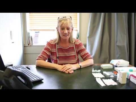 Gynaecologist Demos IVF Drug Menopur
