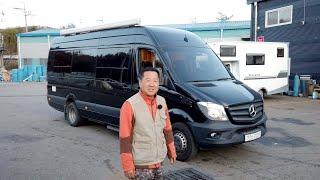벤츠 스프린터 럭셔리버전 캠핑카 - 파주 홍성자동차 캠…