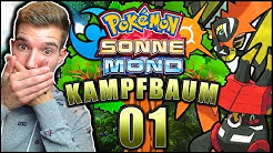BIS NACH OBEN 😱😂 KAMPFBAUM Pokémon Sonne Pokémon Mond