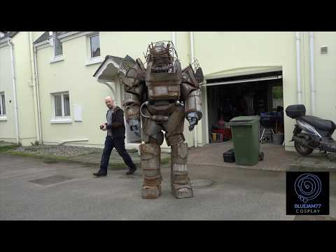 Full Raider Power Armour Assembly