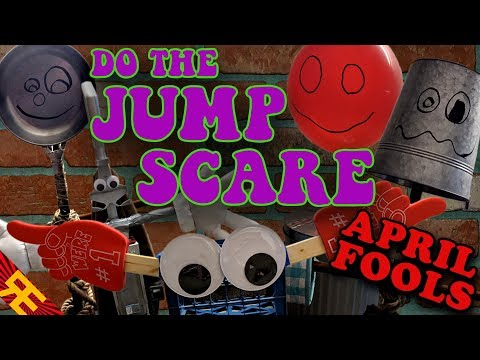 DO THE JUMP SCARE starring Trash and the Gang APRIL FOOLS