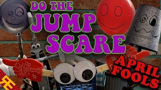 DO THE JUMP SCARE starring Trash and the Gang [APRIL FOOLS]