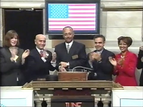NYC Comptroller Bill Thompson Opens NYSE in 2003
