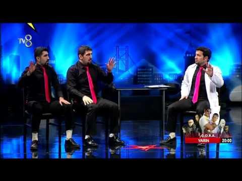 go tiyatronun skeç performansı tv8