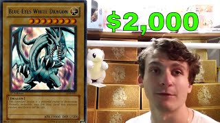 Yugioh YCS NJ: TURNING DOWN $2,000 Cash for LOB Blue Eyes White Dragon 1st Edition PSA 10 GEM MINT+