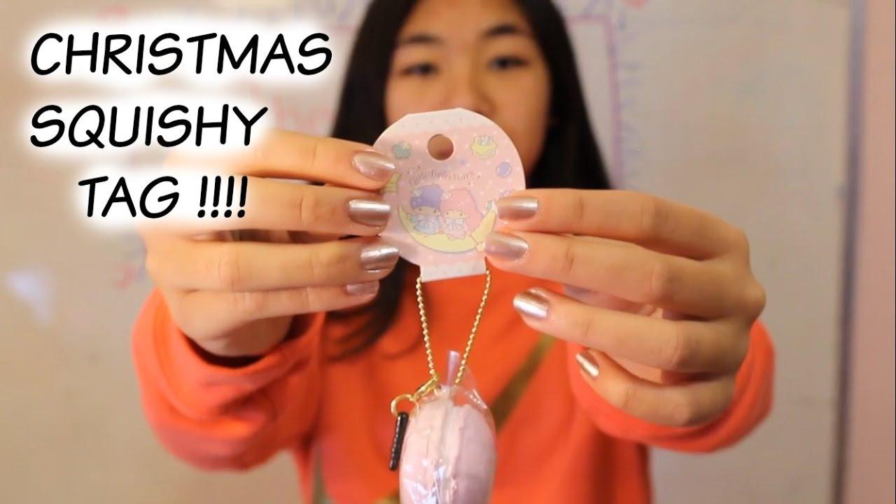 Personality Squishy Tag : Christmas squishy Tag - YouTube