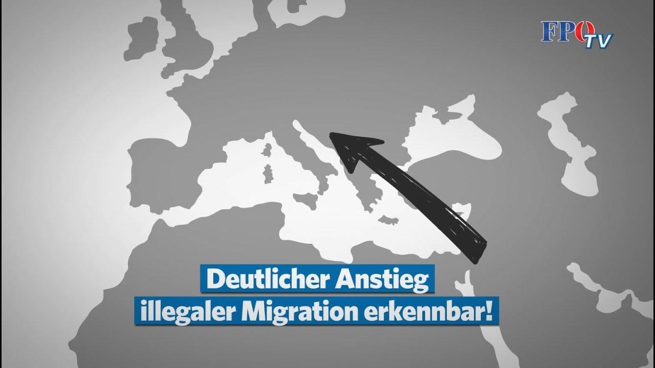 Steht uns neue Migrationskrise bevor? Herbert Kickl wird Szenen wie 2015 NICHT mehr zulassen!