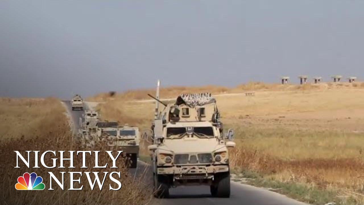 Trump Abruptly Withdraws U.S. Troops From Northern Syria   NBC Nightly News - NBC News