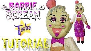 мороженщик Барби Айс скрим из пластилина Туториал Cream man Ice Scream Barbie Plasticine Tutorial