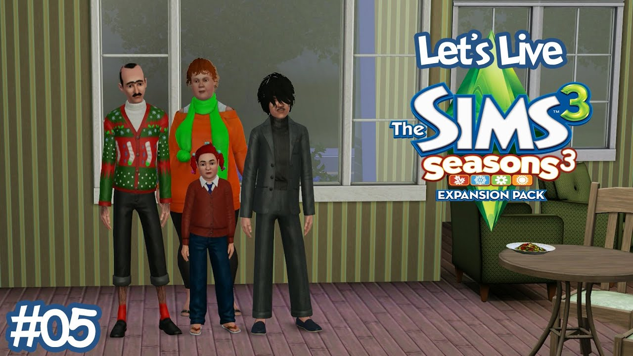 Rencontres en ligne dans les Sims 3 saisons