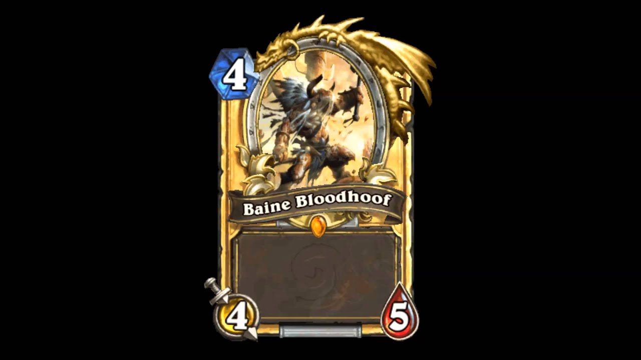 baine bloodhoof quotes pl hearthstone youtube