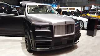 "Mansory Rolls Royce Cullinan ""Billionaire"" in detail, over the TOP SUV? [4k 60 fps]"
