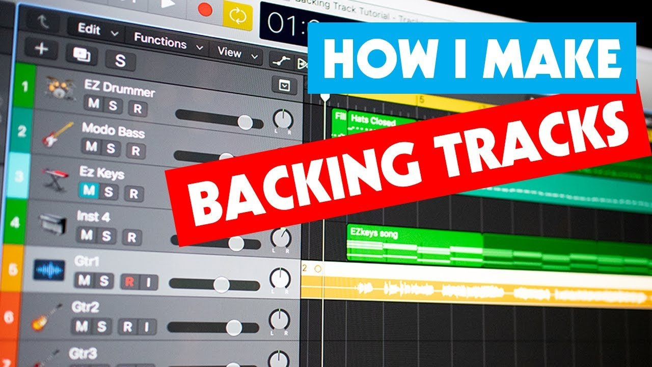 How I Make My Backing Tracks | Tutorial for Guitarists | Software I Use