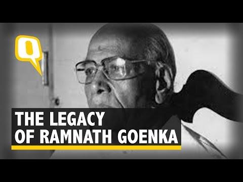 Ramnath Goenka, the Man Who Stood for 'Freedom' | The Quint