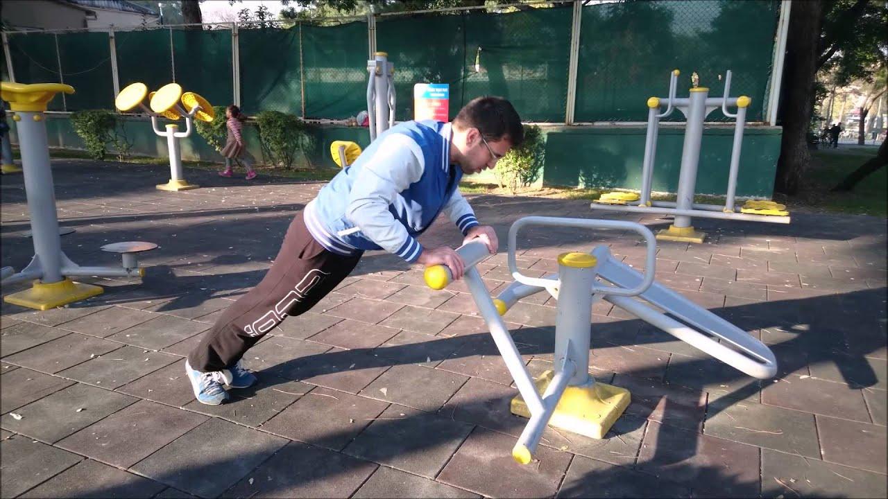Parklardaki Spor Aletleri Kilo Verdirir Mi