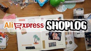Bullet journal Ali Express shoplog 2019: Maak je journal met deze spullen!