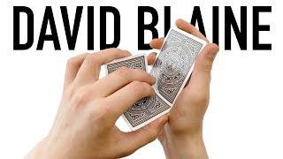 DAVID BLAINE - Card Trick Tutorial