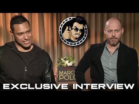 Dan Minahan and Uli Latukefu Interview - Netflix's Marco Polo (HD) 2014