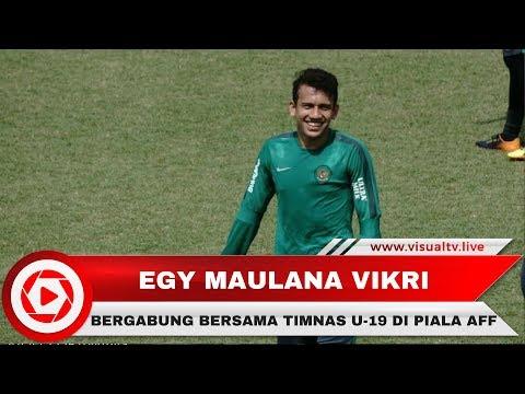 Egy Maulana Gabung Timnas U-19 di Piala AFF