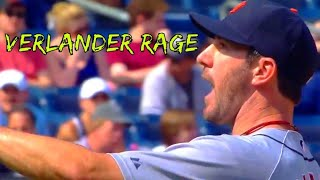 Justin Verlander getting pissed off!