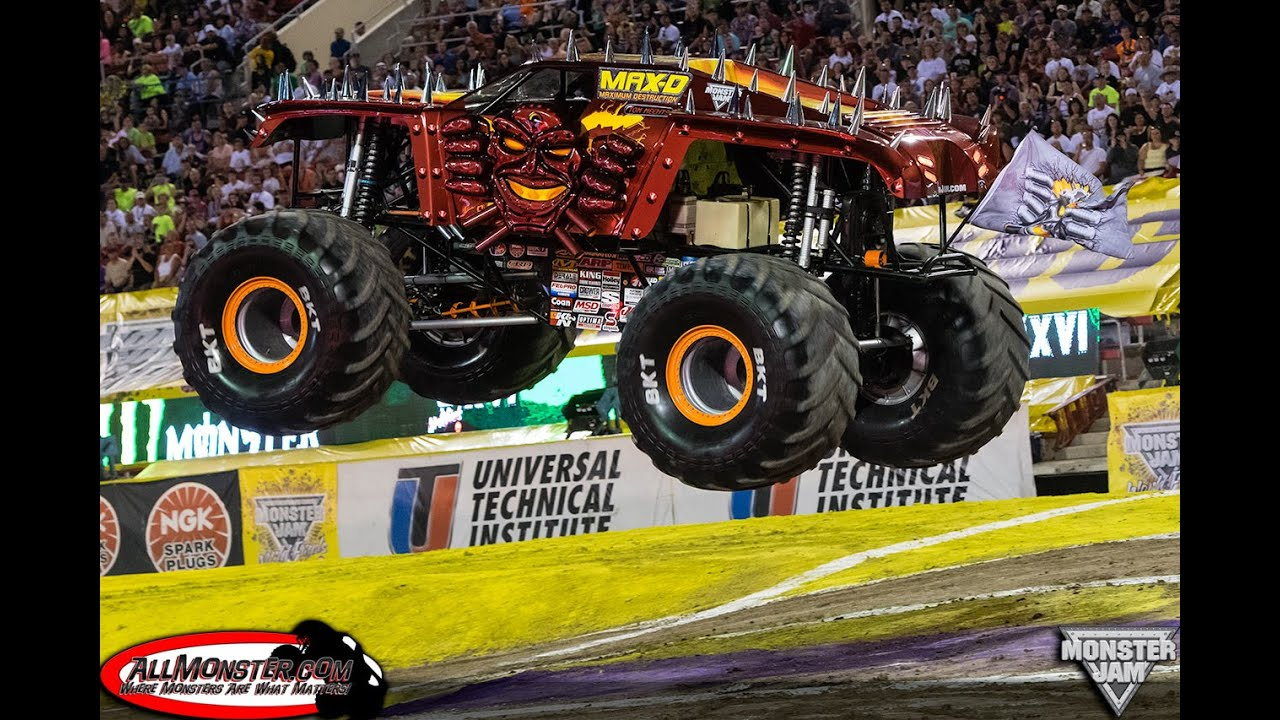 Rigs of Rods Monster Jam: OnBoard Red Max D Racing and ...