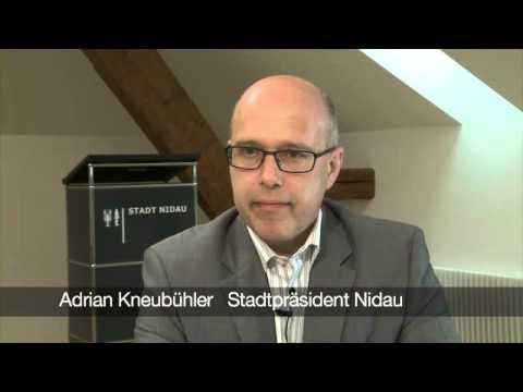 ETF-FFG 2013 - 10 schnelle Antworten von Andreas Kneubühler, Stadtpräsident von Nidau, zum ETF 2013