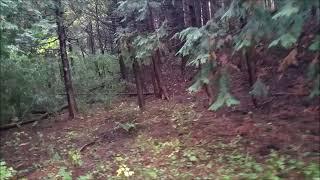 源義経家来である吉内屋敷跡への道程を撮影しました。 スマホを手持ちで...