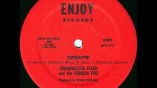 Grandmaster Flash & The Furious Five - Superrappin