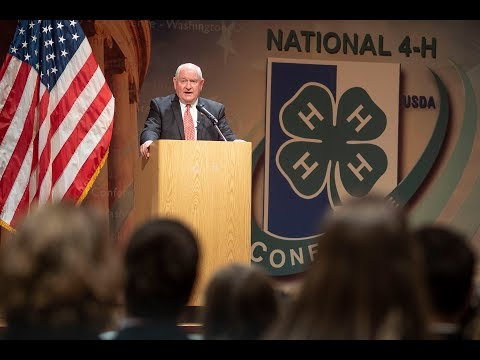 Sonny Perdue Speaks at 4H National Conference