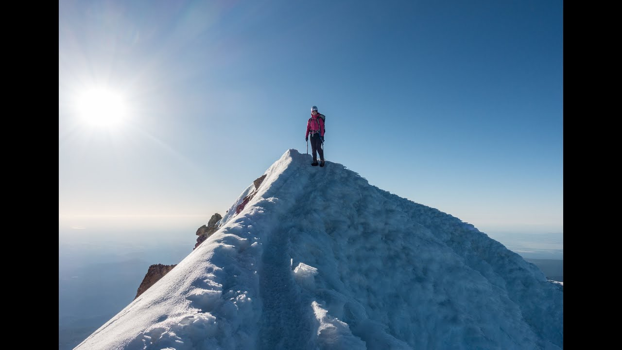 Mt. Hood Summit Climb - June 6th 2015 - YouTube