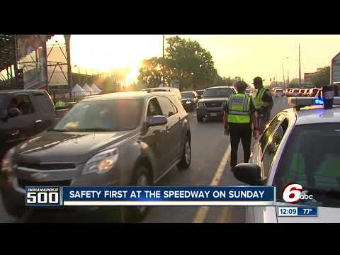 Vehicles may be searched when entering Indianapolis 500