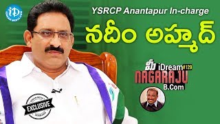 YSRCP Anantapur In-charge Nadeem Ahmed Full Interview || Talking Politics With iDream #276