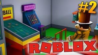 ¡Construyo el segundo piso! -ROBLOX Arcade Tycoon #2!