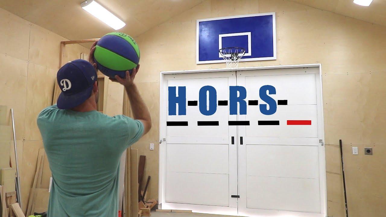 Building A Custom Basketball Hoop In My Workshop Youtube